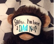 The Bright Side Eyemask-Sshhh Im having a dad nap